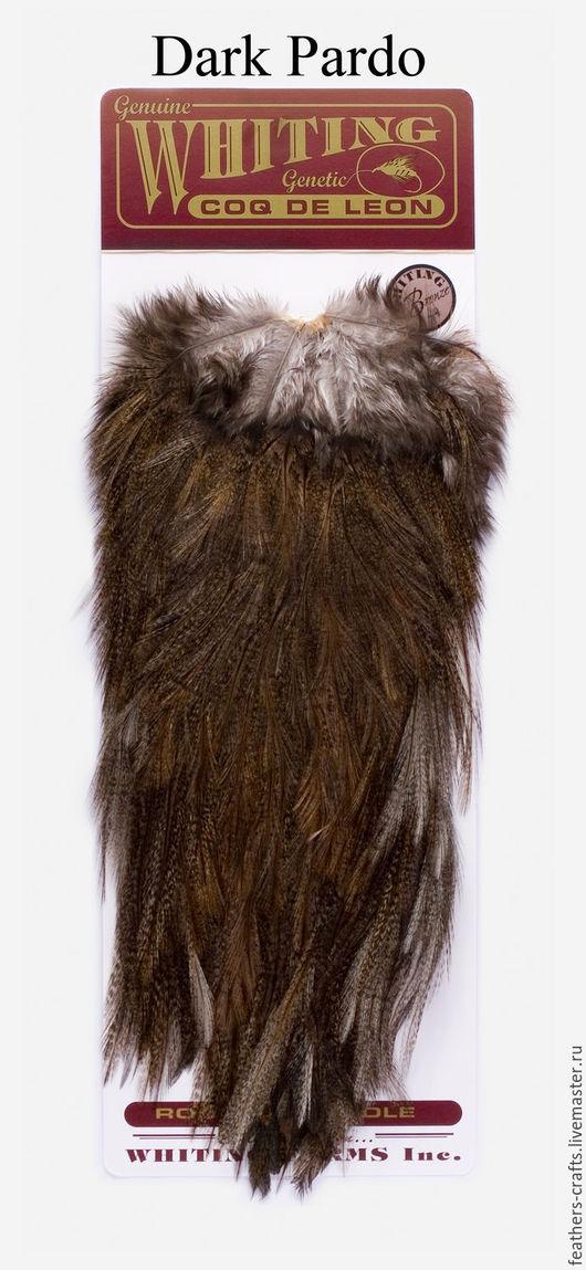 Другие виды рукоделия ручной работы. Ярмарка Мастеров - ручная работа. Купить Перья Coq de Leon Bronze Saddle  Dark Pardo (51302044). Handmade.