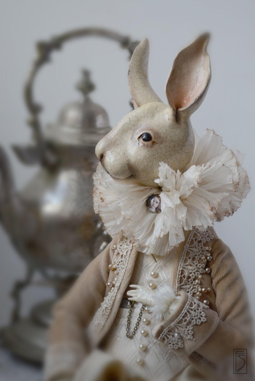 Куклы и игрушки ручной работы. Ярмарка Мастеров - ручная работа. Купить Кролик Эдвард. Handmade. Кролик, Эдвард