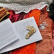 Материалы для творчества ручной работы. Ярмарка Мастеров - ручная работа Наборы для шитья Огненной обезьянки (20,27 см),винтажная выкройка. Handmade.