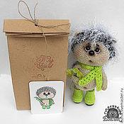 Куклы и игрушки ручной работы. Ярмарка Мастеров - ручная работа Ёжонок Нафанька. Handmade.