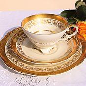 Винтаж handmade. Livemaster - original item Edelstein (1929-1972)) A gentle, teatime trio.Germany.. Handmade.
