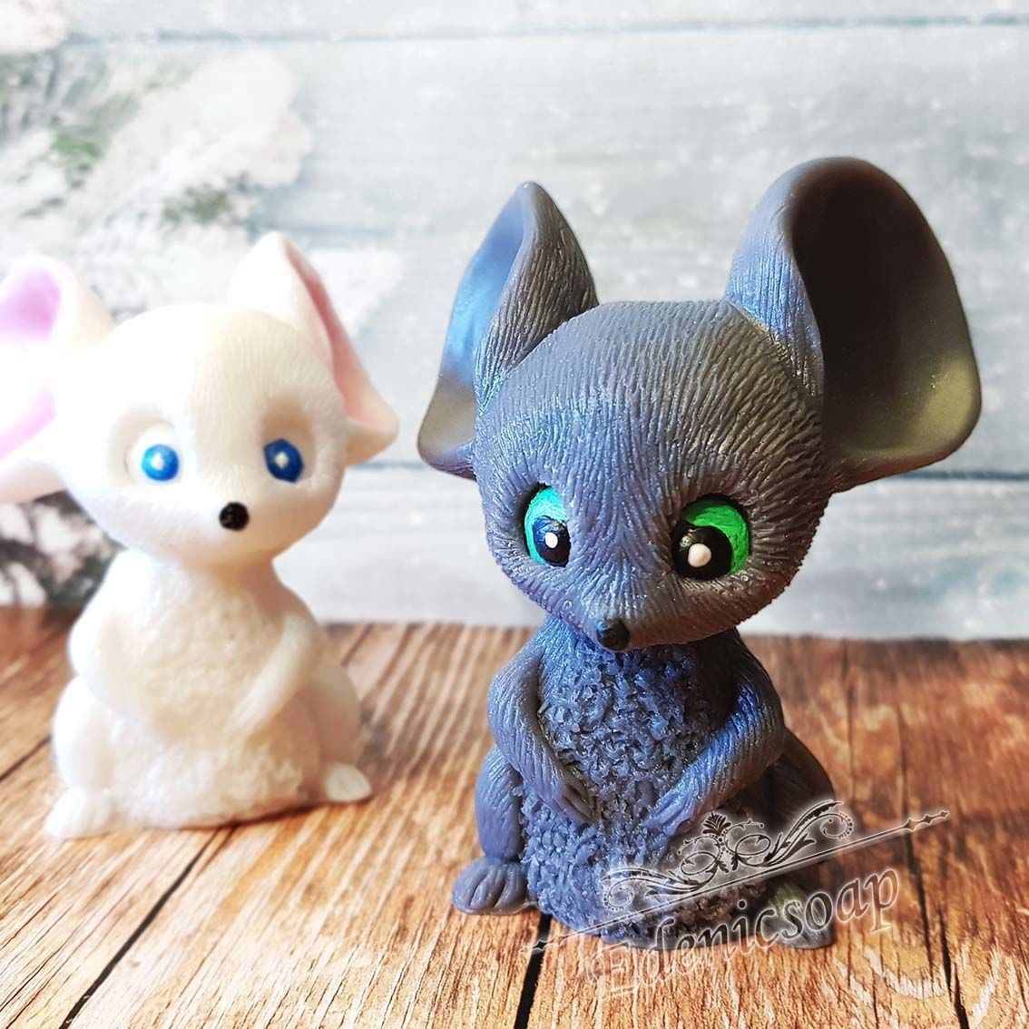 'Ushastik ' soap mouse figure gift for The new year children, Soap, Moscow,  Фото №1