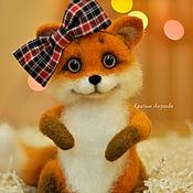 Куклы и игрушки handmade. Livemaster - original item Felt toy: Fox. Handmade.