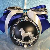 Сувениры и подарки handmade. Livemaster - original item Bowl with painted and inlaid