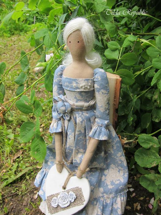 """Куклы Тильды ручной работы. Ярмарка Мастеров - ручная работа. Купить Тильда """"Нежность летнего утра"""". Handmade. Голубой"""