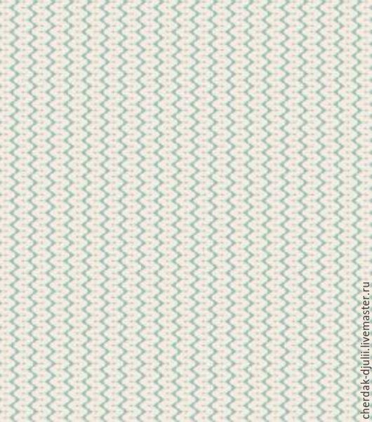Куклы и игрушки ручной работы. Ярмарка Мастеров - ручная работа. Купить Ткань Tilda Yarn Teal ( TF- 807). Handmade.