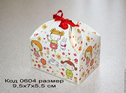 Код 0604 коробочка, бонбоньерка `сундучок большой` размер 9.5х7х5,5 см Закрывается при помощи завязочки (в комплект не входит).