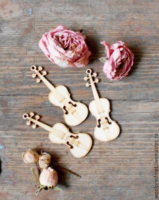 Куклы и игрушки ручной работы. Ярмарка Мастеров - ручная работа. Купить Скрипка деревянная. Handmade. Скрипка, музыкальный инструмент