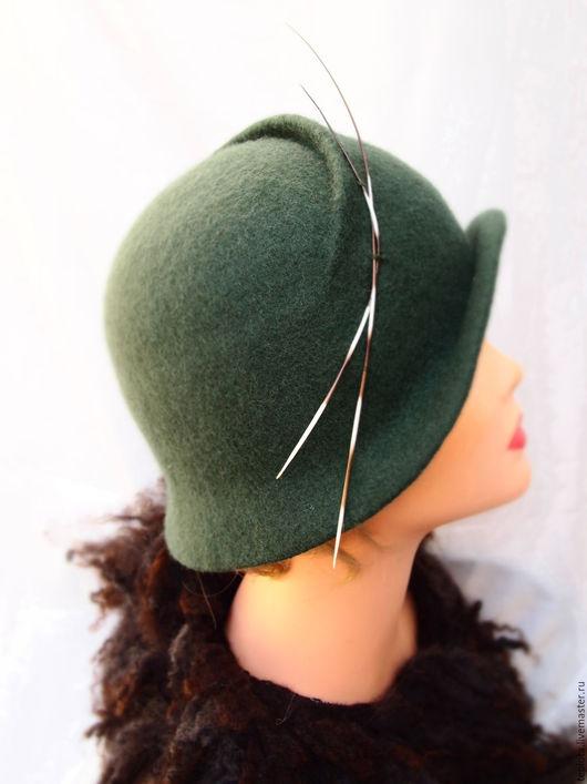 """Шляпы ручной работы. Ярмарка Мастеров - ручная работа. Купить шляпка валяная """"Тайны елового леса..."""". Handmade."""