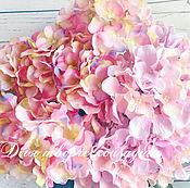 Цветы искусственные ручной работы. Ярмарка Мастеров - ручная работа Гортензии, голова гортензии. Handmade.
