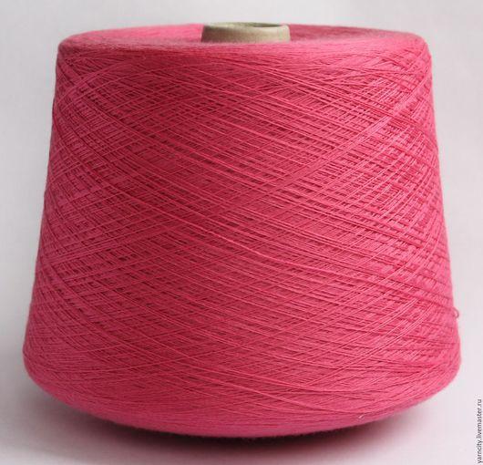 Вязание ручной работы. Ярмарка Мастеров - ручная работа. Купить 100% Меринос экстрафайн. Handmade. Фуксия, пряжа, пряжа для вязания