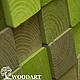 Абстракция ручной работы. Ярмарка Мастеров - ручная работа. Купить Панно мозаика из дерева (120х200). Handmade. Панно, деревянный