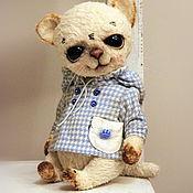 Куклы и игрушки ручной работы. Ярмарка Мастеров - ручная работа котик Лёсик. Handmade.
