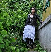 Одежда handmade. Livemaster - original item Summer white skirt. Handmade.