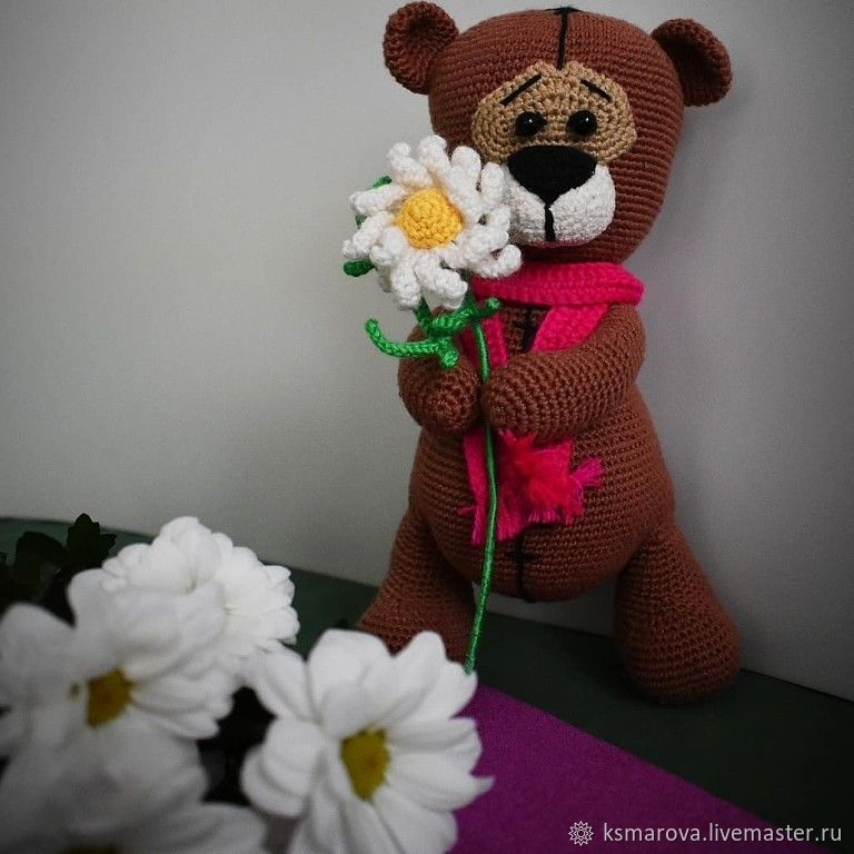 Мишутка романтик, Игрушки, Вязники, Фото №1