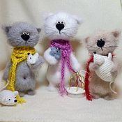 Мягкие игрушки ручной работы. Ярмарка Мастеров - ручная работа Кошки-мышки. Handmade.