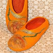 Обувь ручной работы. Ярмарка Мастеров - ручная работа Осенняя роза. Handmade.