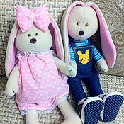 Куклы и игрушки ручной работы. Ярмарка Мастеров - ручная работа Заяц из Флиса. Handmade.