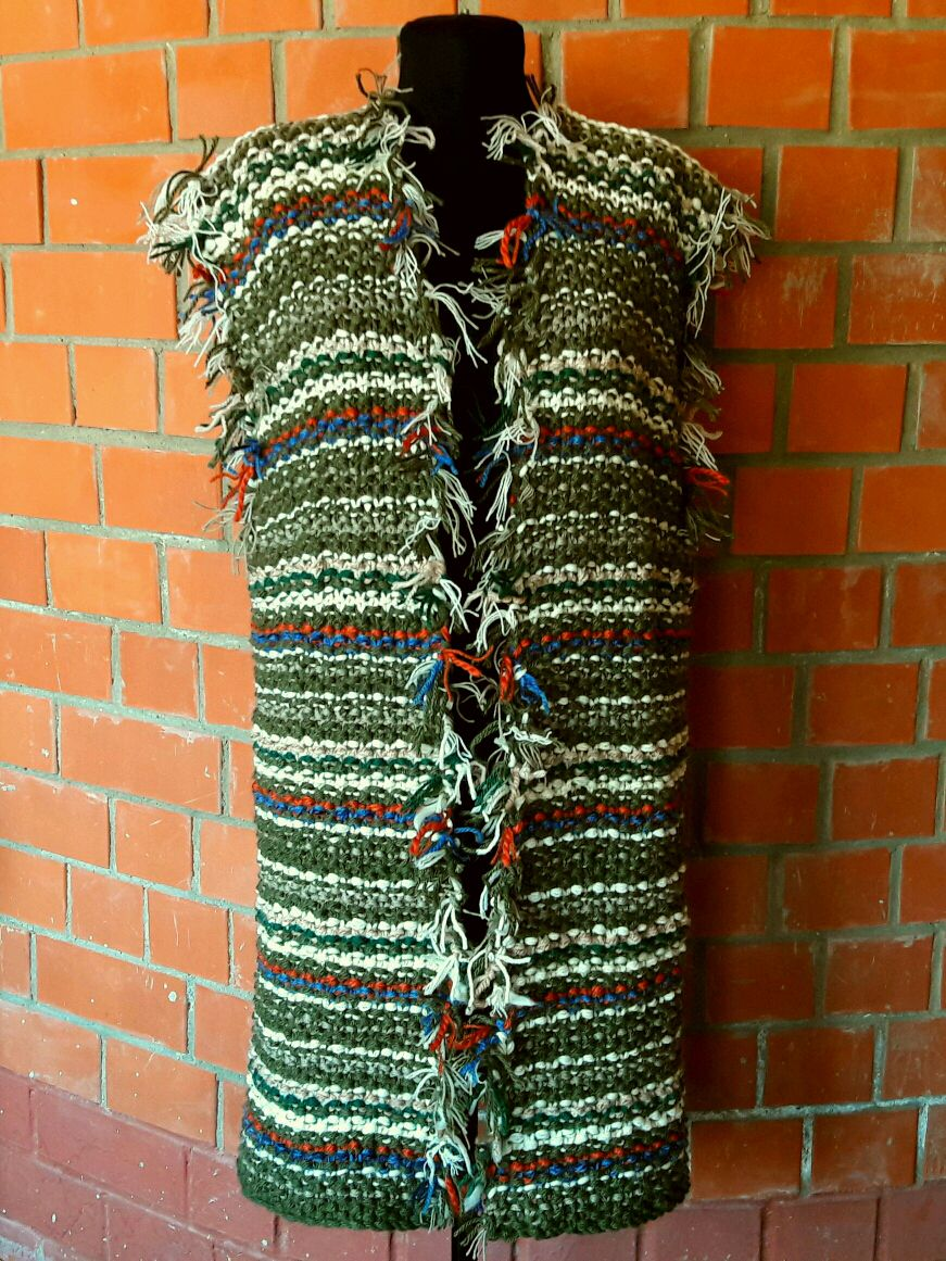Vest knit knitting, Vests, Moscow,  Фото №1