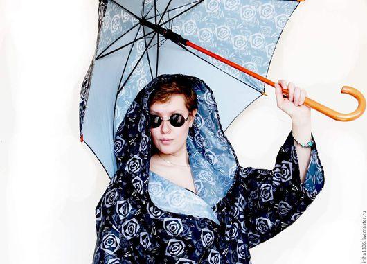 Зонты ручной работы. Ярмарка Мастеров - ручная работа. Купить Зонт  Черные розы. Handmade. Черный, зонт в подарок