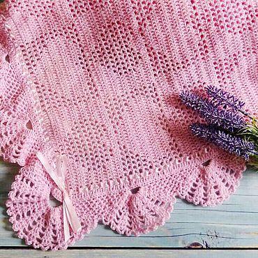 Текстиль ручной работы. Ярмарка Мастеров - ручная работа Плед для малышки. Handmade.
