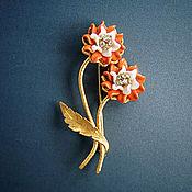 Винтаж handmade. Livemaster - original item Vintage brooch