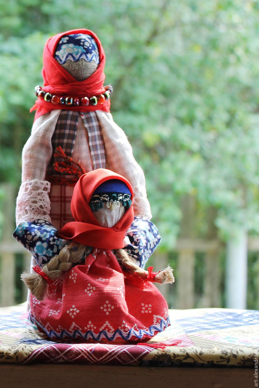 Традиционная русская кукла Ведучка, , Москва, Фото №1