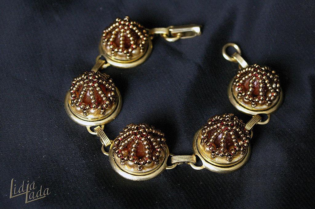 Царский браслет, Браслет из бусин, Львов,  Фото №1