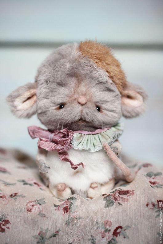 Мишки Тедди ручной работы. Ярмарка Мастеров - ручная работа. Купить Мышка Тедди Шуша. Handmade. Серый, мышка в подарок