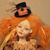 Куклы и игрушки ручной работы. Ярмарка Мастеров - ручная работа Авторская будуарная кукла Лулу. Handmade.