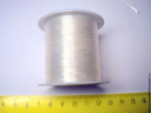 Для украшений ручной работы. Ярмарка Мастеров - ручная работа. Купить Леска 0,3-0,4 мм. Handmade.