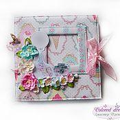 Подарки к праздникам handmade. Livemaster - original item Album notes for girls up to 7 years
