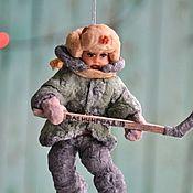 Сувениры и подарки handmade. Livemaster - original item Gifts on February 23: Cotton toy. Handmade.