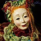 """Куклы и игрушки ручной работы. Ярмарка Мастеров - ручная работа Кукла """" Укротительница черепах"""". Handmade."""