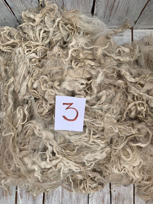 Альпака Сури. Для валяния и прядения. 600 грамм. Флис, Войлок, Ядрин,  Фото №1