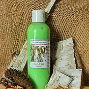Косметика ручной работы handmade. Livemaster - original item Hair balm Birch buds. Handmade.