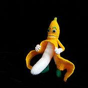 Мягкие игрушки ручной работы. Ярмарка Мастеров - ручная работа Банан-хулиган. Handmade.
