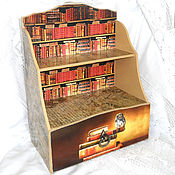 Для дома и интерьера handmade. Livemaster - original item Desktop shelf office Library. Handmade.