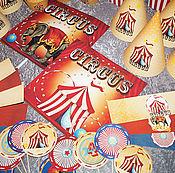 """Подарки к праздникам ручной работы. Ярмарка Мастеров - ручная работа Набор для оформления ДНЯ РОЖДЕНИЯ """"Ретро Цирк"""". Handmade."""