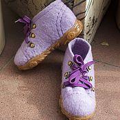Обувь ручной работы. Ярмарка Мастеров - ручная работа Ботиночки лесной феи. Handmade.