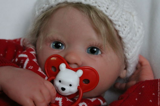 Куклы-младенцы и reborn ручной работы. Ярмарка Мастеров - ручная работа. Купить Маруся  (молд Марли от Энн Тиммерман). Handmade.