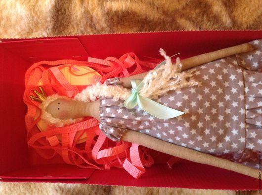 Куклы Тильды ручной работы. Ярмарка Мастеров - ручная работа. Купить Интерьерная кукла Тильда. Handmade. Комбинированный, подарок девушке