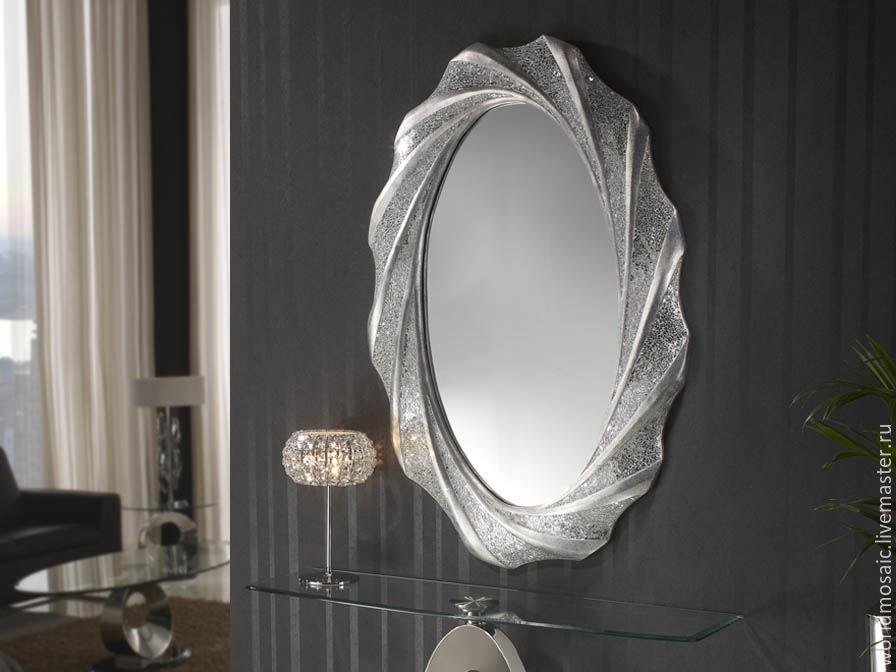 mirror in mosaic frame, oval, Mirror, Krasnodar,  Фото №1
