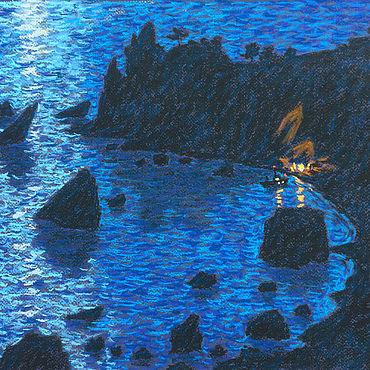 Картины и панно ручной работы. Ярмарка Мастеров - ручная работа Тайны морского побережья. Handmade.