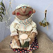 Куклы и игрушки handmade. Livemaster - original item Baba Katya. Handmade.