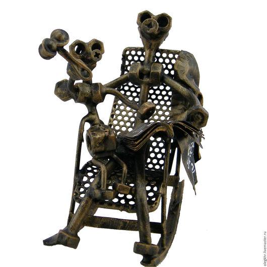 Миниатюрные модели ручной работы. Ярмарка Мастеров - ручная работа. Купить Лучший дедуля. Handmade. Скульптурная миниатюра, куклы и игрушки