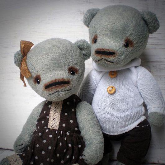 авторский мишка тедди мишка тедди купить пара мишек тедди Ксения Михайлова