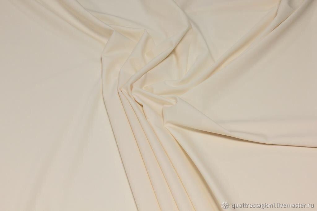 Шитье ручной работы. Ярмарка Мастеров - ручная работа. Купить Шерсть Celine цвет айвори. Handmade. Брюки, итальянские ткани