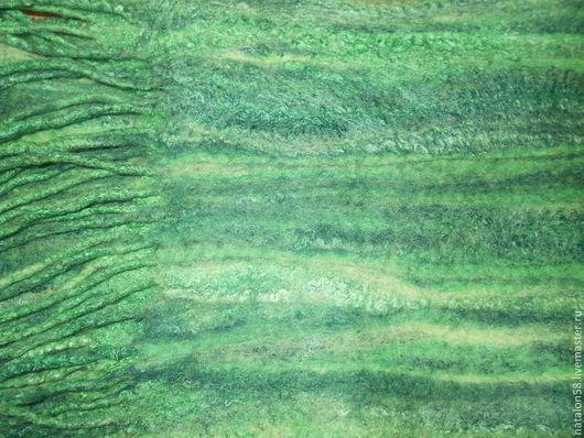 Шарфы и шарфики ручной работы. Ярмарка Мастеров - ручная работа. Купить Модель №33 Шарф МАЛАХИТ. Handmade. Зеленый
