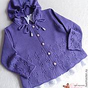"""Работы для детей, ручной работы. Ярмарка Мастеров - ручная работа Комплект """"Viola - 2"""" (кофта, штанишки, шапочка). Handmade."""